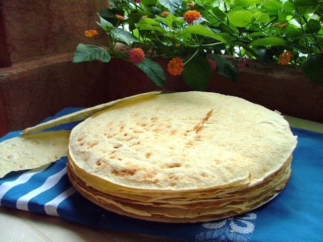 Gastronomia sarda - pane carasau