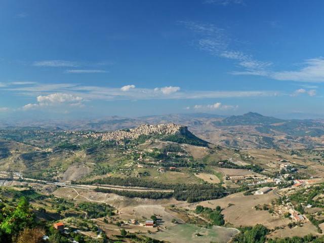 Panorama Enna