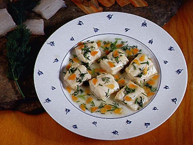 Filetto di lucioperca in salsa di aneto