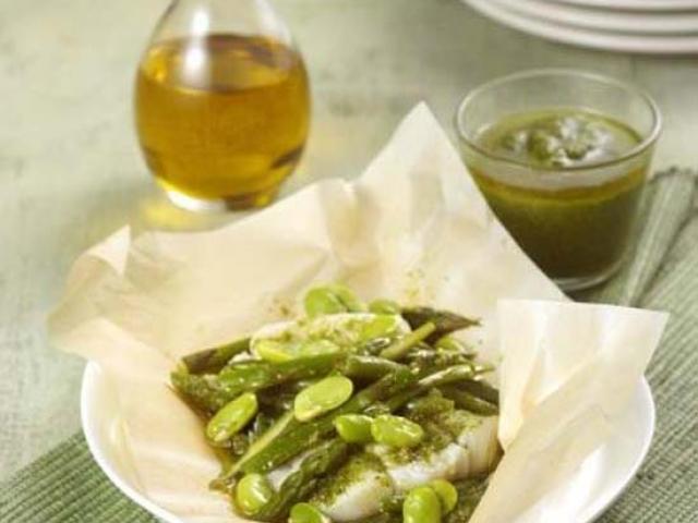 Baccalà in salsa verde