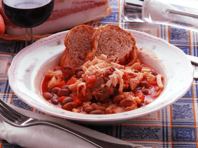 Zuppa di trippa o bûsècca