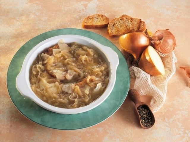 Zuppa di cipolle di Brunate