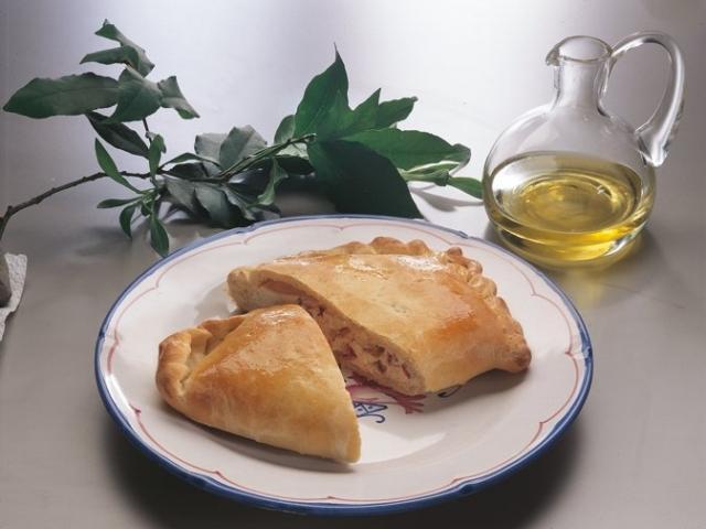 Calznge'ddr ch la carn o Panzerotti con la carne