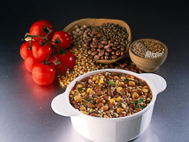 Mesciua (zuppa di grano e legumi)