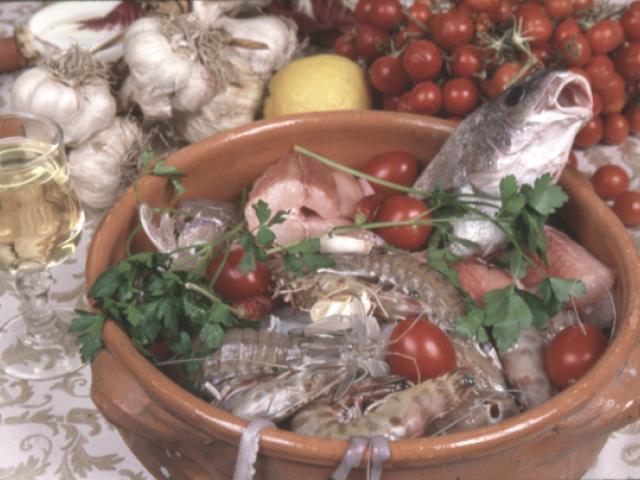 Zuppa di pesce su zimminu