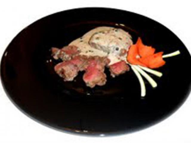 Filetto di Chianina IGP alla creola con salsa al Calvados