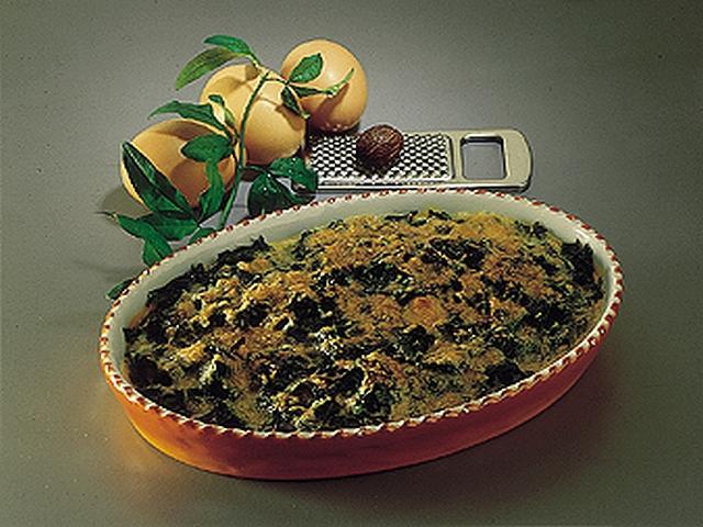 Zuppa di cicoria, cacio e uova