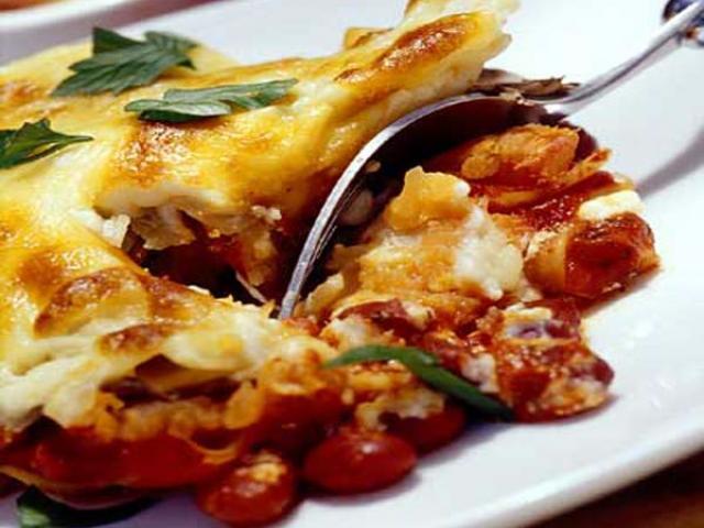 Lasagnette con speck e scamorza