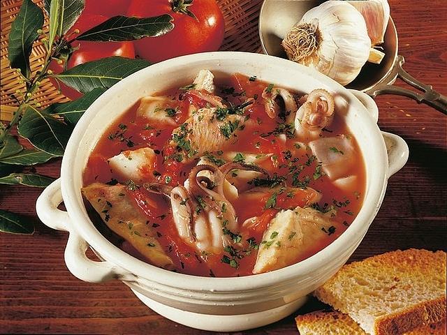 Zuppa di pesce alla crotonese
