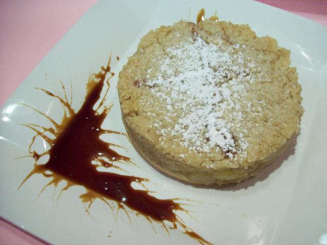 Tortini di mele con crema pasticciera al Recioto