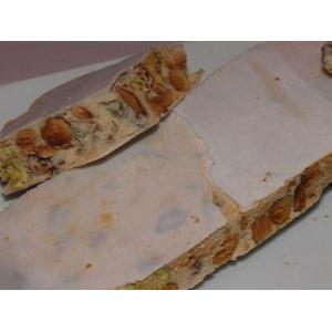 Torrone morbido con mandorle e pistacchio
