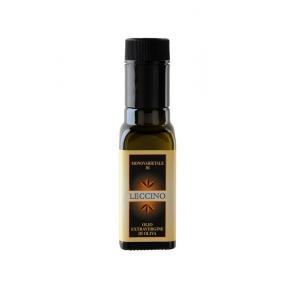 Olio extravergine di oliva monovarietale leccino