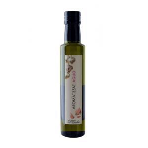 Olio extravergine aromatizzato all'aglio