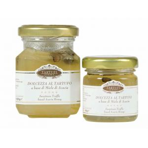 Dolcezza al tartufo a base di miele d'acacia