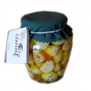 aglio marinato