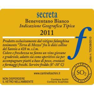 Vino bianco - Secreta IGT
