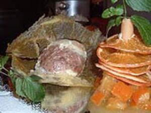 Carne con l'arancia
