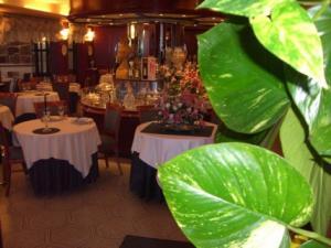 Particolare sala ristorante