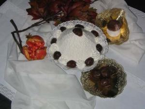 Torta con panna e cioccolato