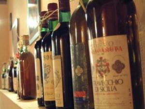 Etichette dei vini