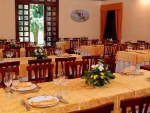 ristorante Casino di Caccia di Villa Lante- sala ristorante
