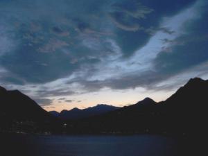 Bar Nilus- paesaggio notturno