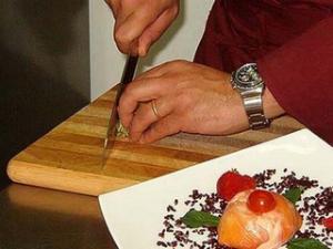 Ristorante La Cigale_chef al lavoro