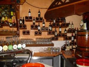 Ristorante El Chorizo- esposizione vini