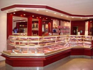 pasticceria Cerri- bancone del negozio