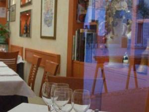 Trattoria Da Mario- vetrina del ristorante