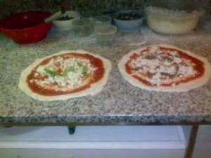 da Paolo - preparazione pizza