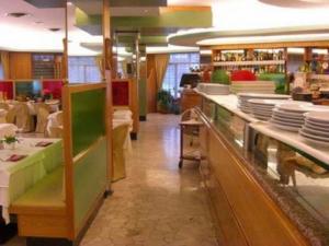 ristorante pizzeria La Brace- banco della pizzeria