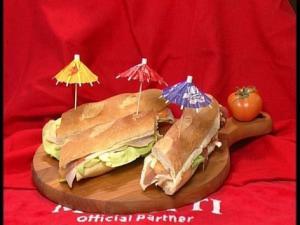 Caffe Bonjour- panino con prosciutto crudo