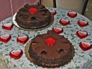 Torta artigianale  per san valentino