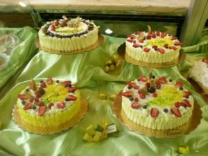 Vetrina delle torte