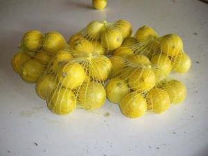 Limoni per la vendita