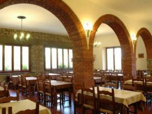 Particolare della sala ristorante