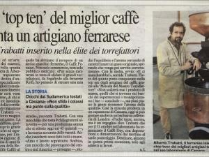 Articolo del 27 Ottobre 2013 Carlino Ferrara
