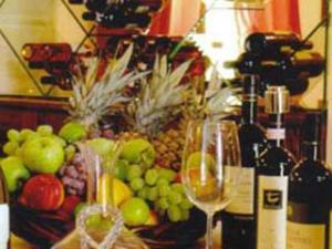 Frutta e vino