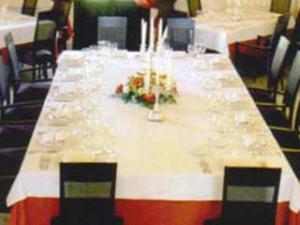 Particolare del tavolo
