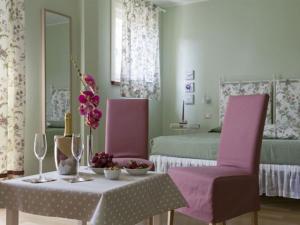 Angolo colazione camera matrimoniale