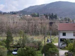 Paesaggio intorno struttura