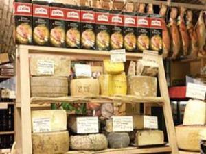 Esposizione formaggi