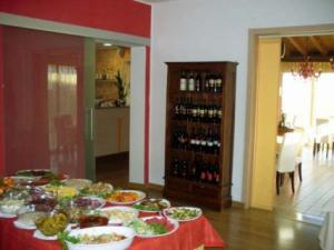 Buffet e esposizioni vini