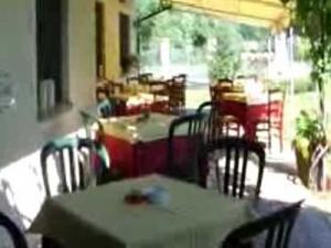 Ristorante Mulino del Casale ad Asti veranda