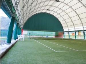 Campo da tennis in erba sintetica