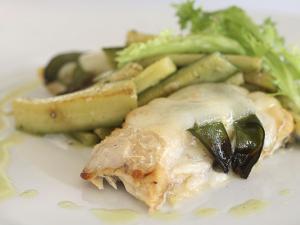 Pesce con zucchine