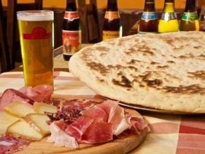 Birra, Torta al Testo e Salumi