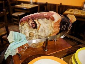 Il Prosciutto di Parma al Coltello