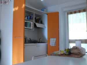 Mini appartamento rosso